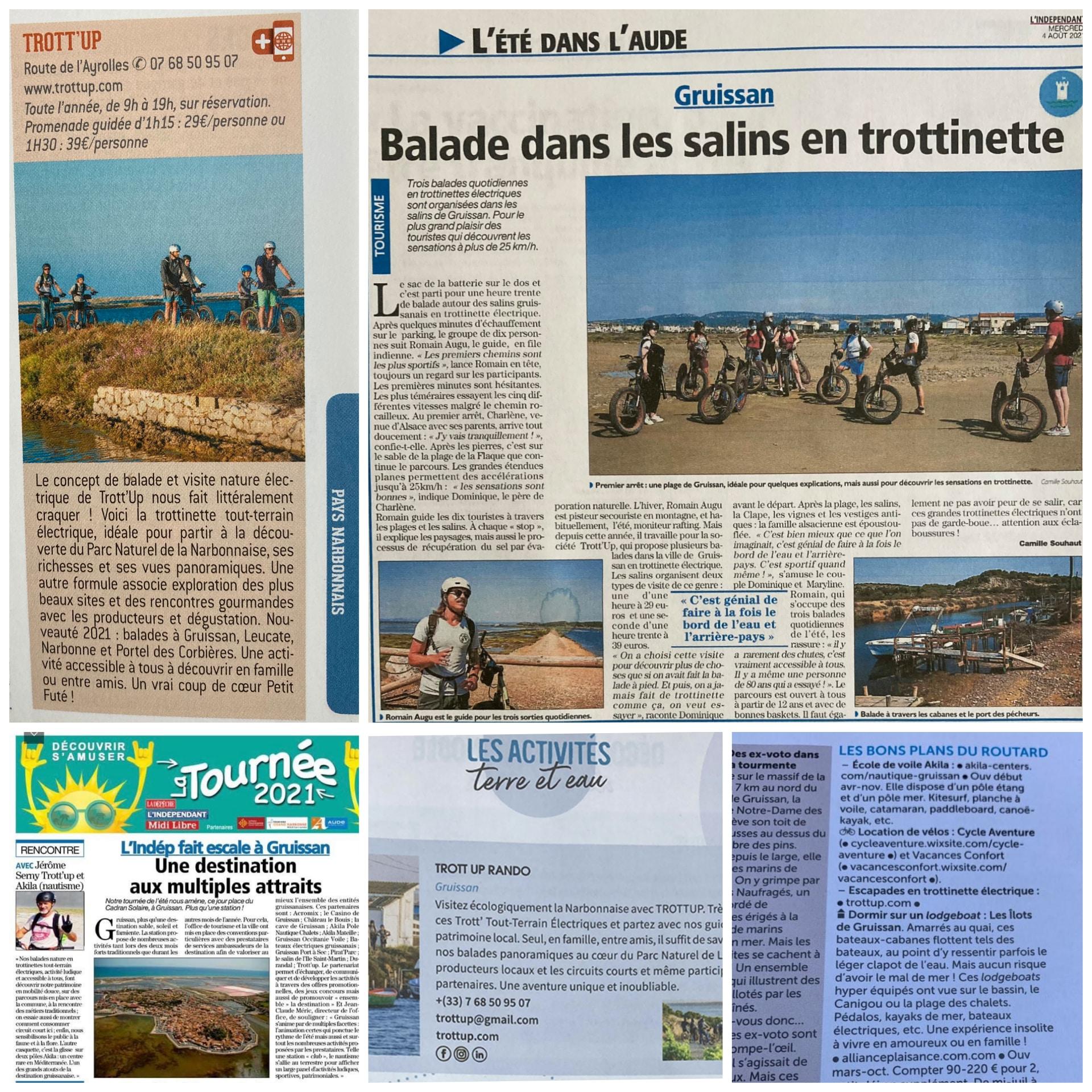 trottup articles presse